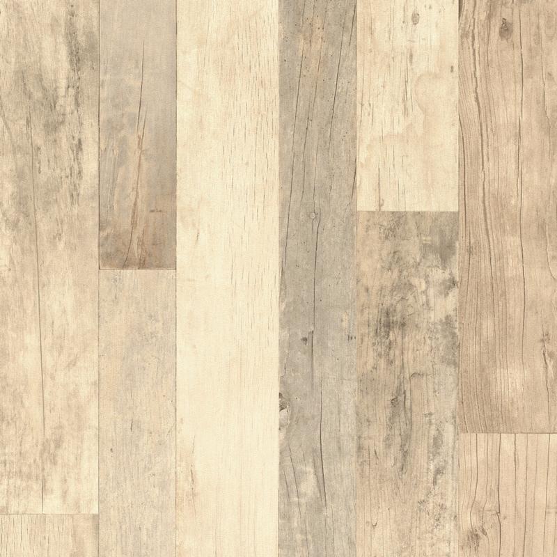 Papier peint Planches de Bois naturel - FACTORY III - Rasch - 941630