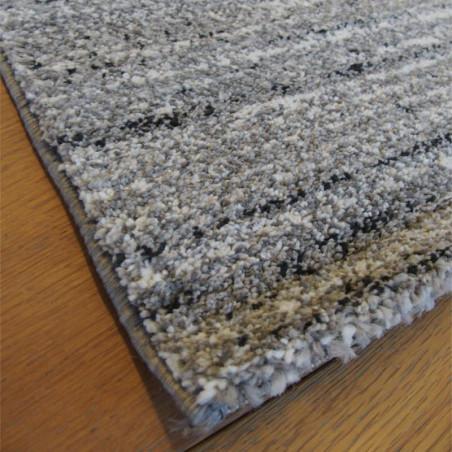 Tapis uni gris moucheté - 200x290cm - ELLE - BALTA