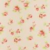 Papier peint Fleur Placée rose - ASHLEY - Caselio