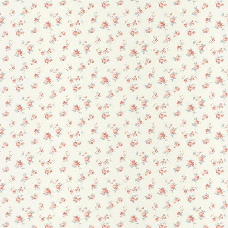 Papier peint Liberty rose et bleu - ASHLEY - Caselio - ASHL69374092