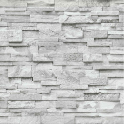 Papier peint Parements gris clair - Erismann - 02363-30