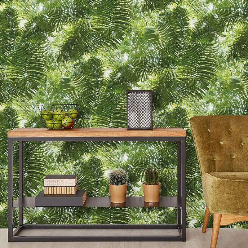 Papier peint Jungle Tropicale vert - Erismann - 42503-10