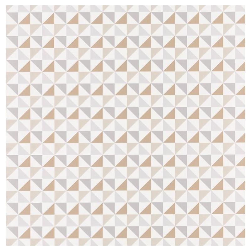 Papier peint Shapes Triangles beige - SPACES - Caselio - SPA100111017