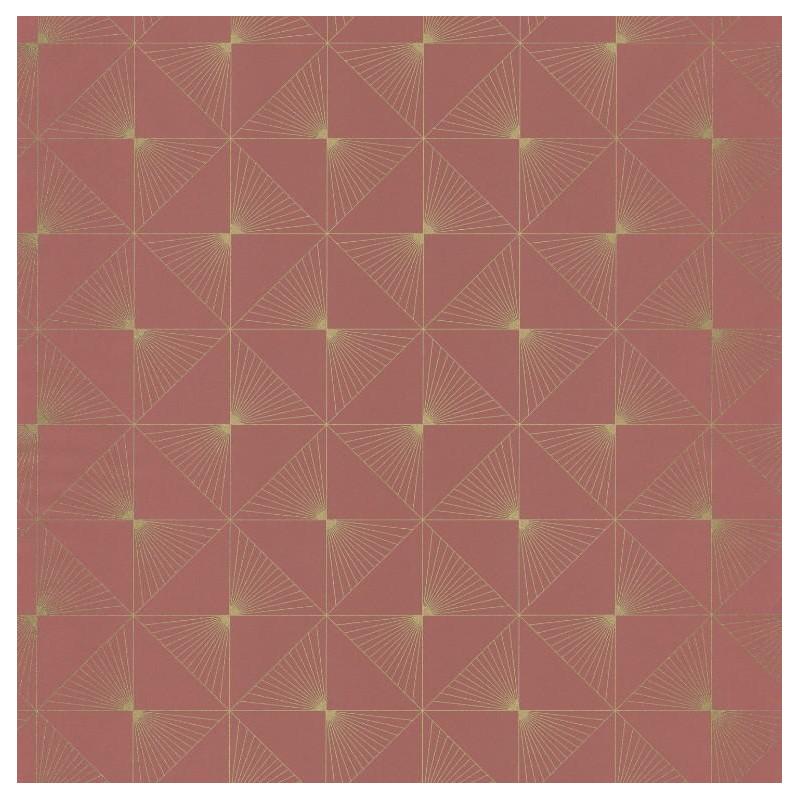 Papier peint Lines rose - SPACES - Caselio - SPA100135022