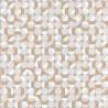 Papier peint Curves Cercles Beige – SPACES – Caselio