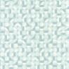 Papier peint Curves Cercles Bleu/Vert - SPACES - Caselio