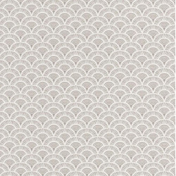 Papier peint Palmeta gris et blanc – Acapulco - Caselio