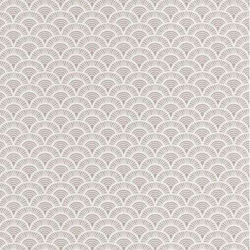 Papier peint Palmeta gris et blanc - ACAPULCO - Caselio - ACAP69921050