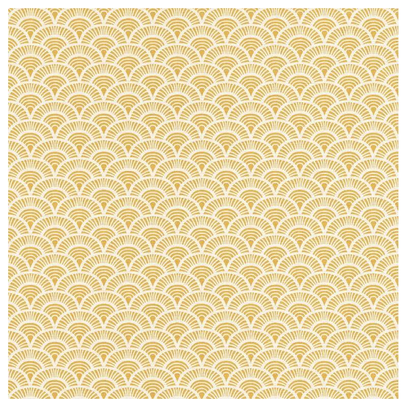 Papier peint Palmeta jaune - ACAPULCO - Caselio - ACAP69922019