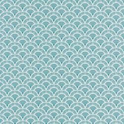 Papier peint Palmeta bleu – Acapulco - Caselio