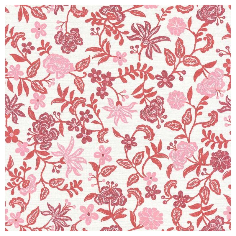 Papier peint Bohemia rose fuschia - ACAPULCO - Caselio - ACAP69934004