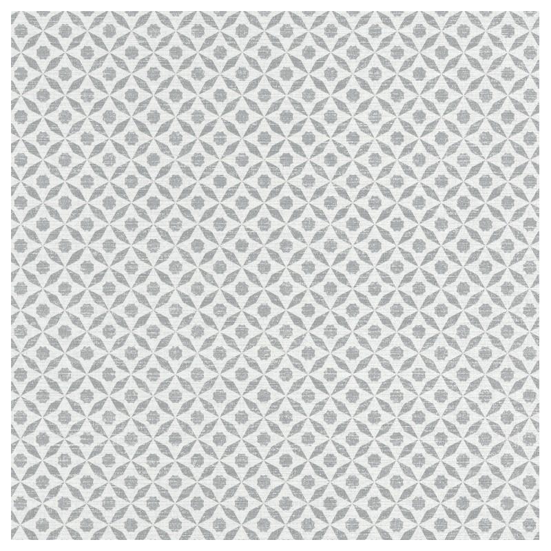 Papier peint Juba géométrique gris – Acapulco - Caselio