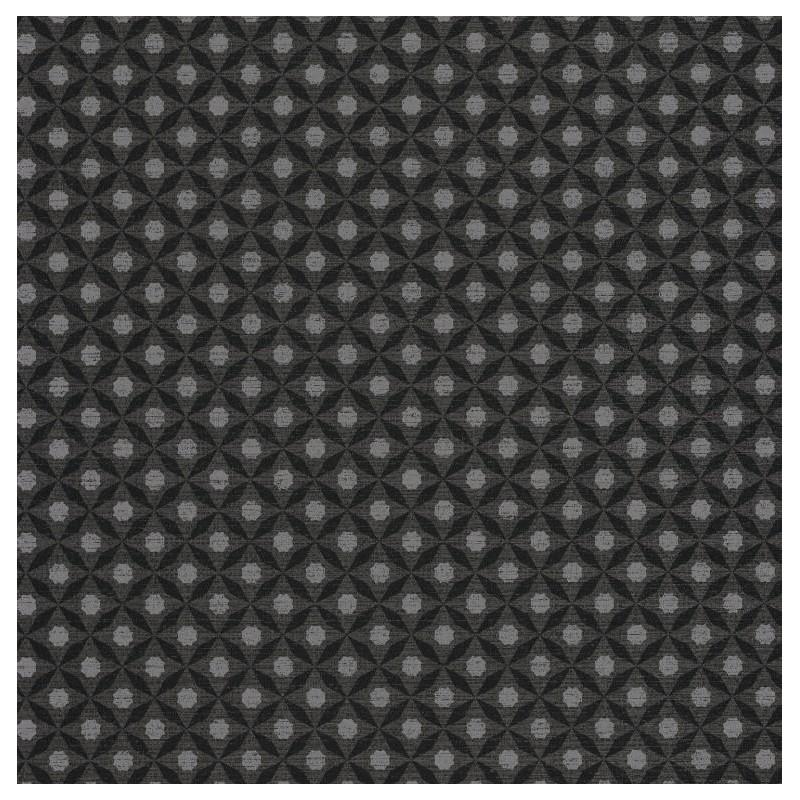Papier peint Juba géométrique marron – ACAPULCO – Caselio