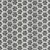 Papier peint Mandala gris foncé – Acapulco - Caselio
