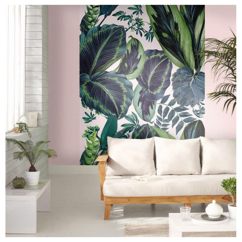Panoramique The Pink Jungle Motifs Tropicaux – JUNGLE - Caselio - JUN100197812