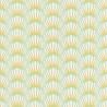 Papier peint Canopee Motifs tropicaux vert/blanc/jaune– JUNGLE - Caselio