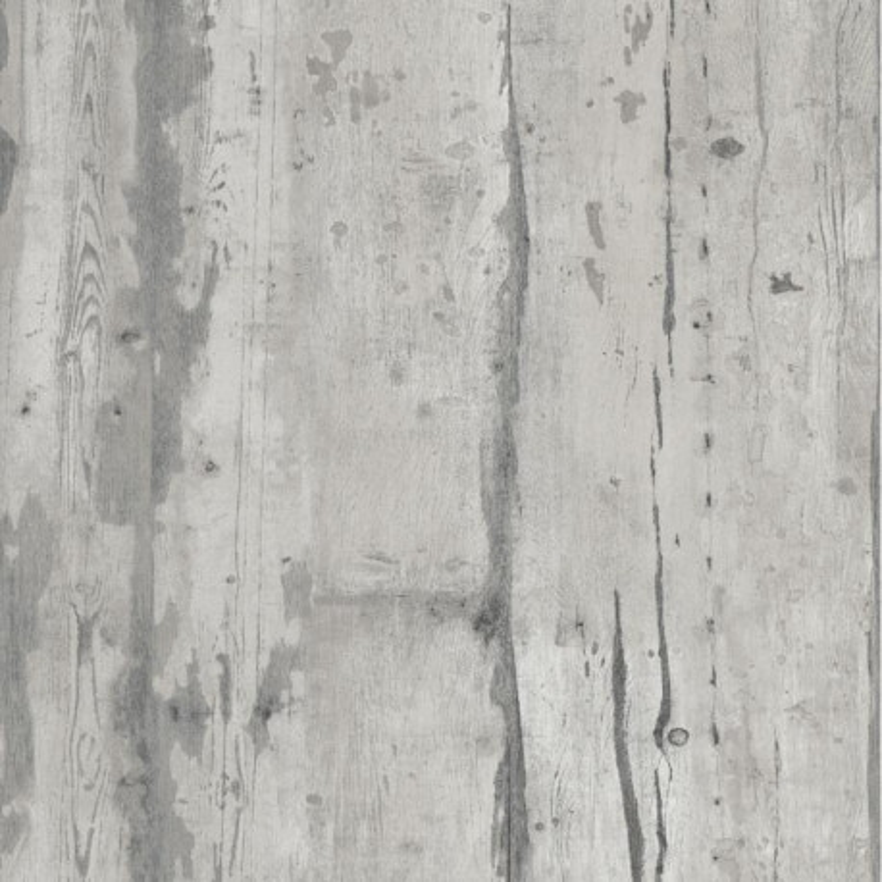 Papier peint Effet bois gris vintage - FAUX SEMBLANT - Ugepa - L10909