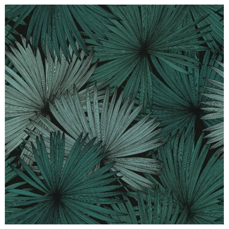 Papier peint Coconut vert foncé - JUNGLE - Caselio - JUN100047818