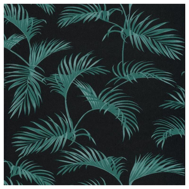 Papier peint Palmes Feuilles de palmier vert – JUNGLE   Caselio.
