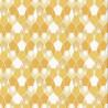 Papier peint Hamac Motifs nids d'abeilles nuance jaune/orange – JUNGLE - Caselio