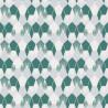 Papier peint Hamac Motifs nids d'abeilles bleu/vert– JUNGLE - Caselio