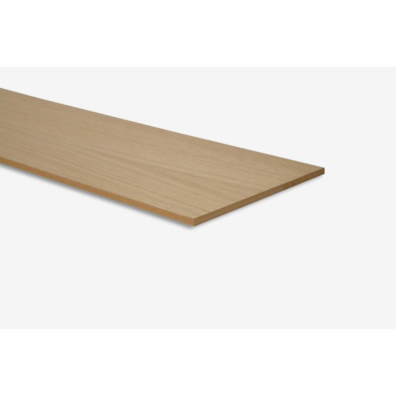 Contremarche placage bois chêne brut - Concept d'escalier Maëstro Steps