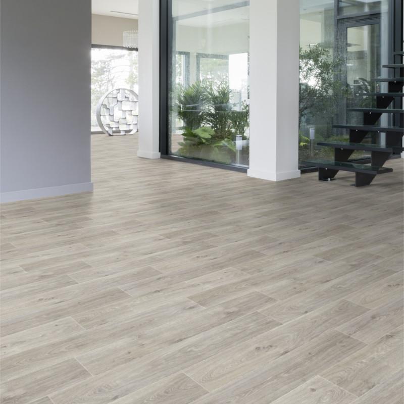 Revêtement PVC - 4m - Noma Clear parquet bois clair Texline Gerflor