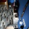 Revêtement PVC - Largeur 3m - Fisherman Ocean parquet bleu Primetex - Gerflor