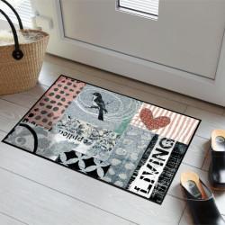 Tapis de propreté - paillasson Annas Vogel by Anna Flores - EFIA