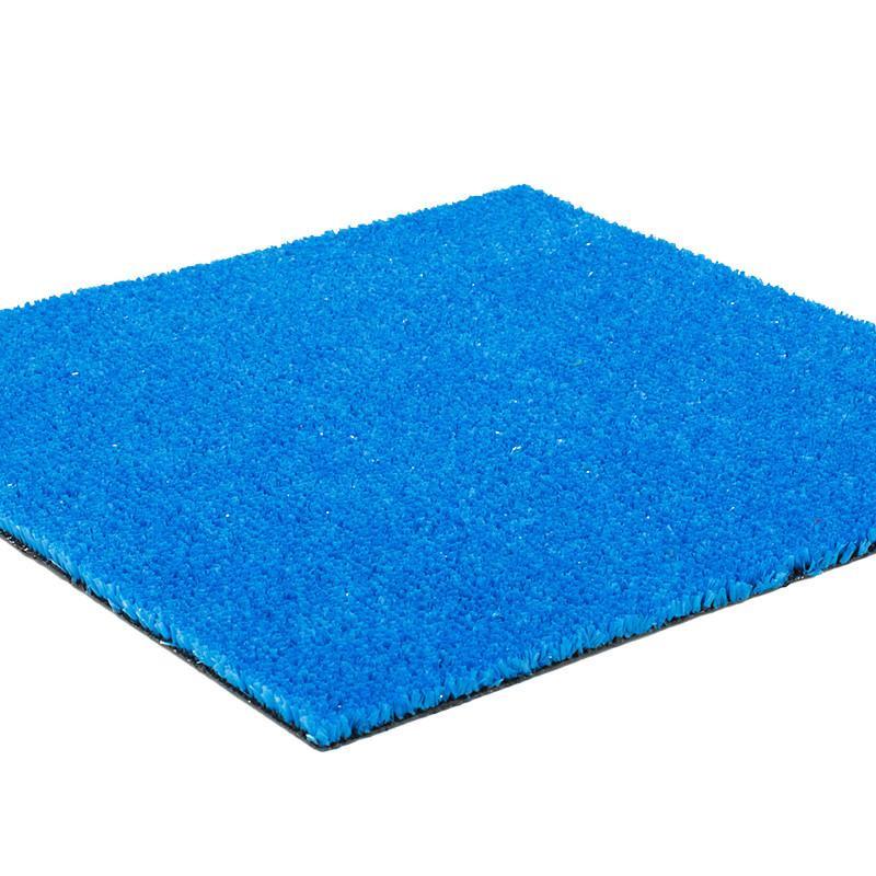 Gazon synthétique bleu - Largeur 2m - SPRING