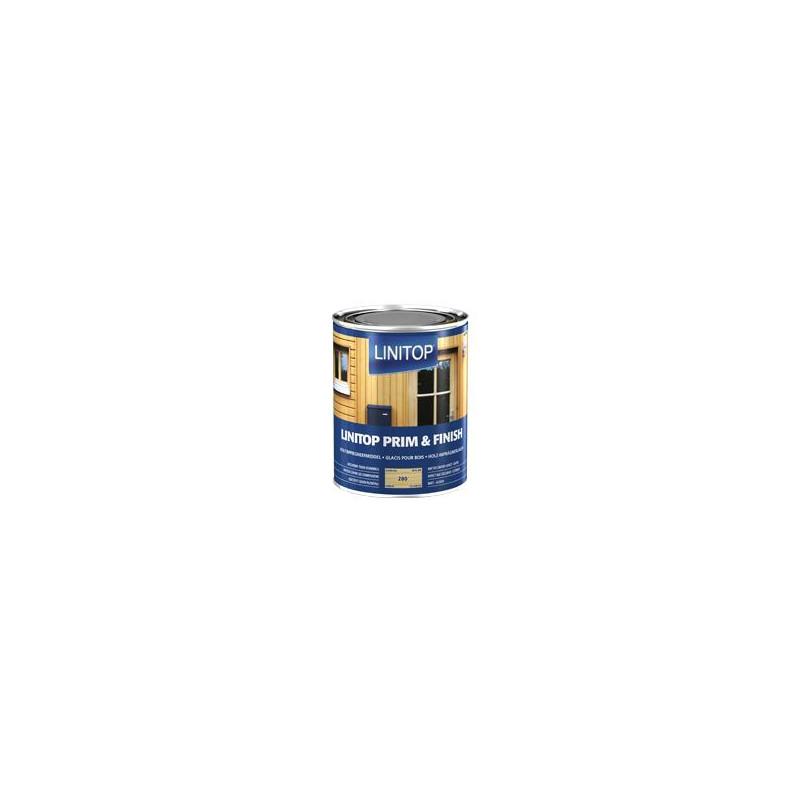 LINITOP PRIM & FINISH 283 noyer - Lasure d'imprégnation transparente