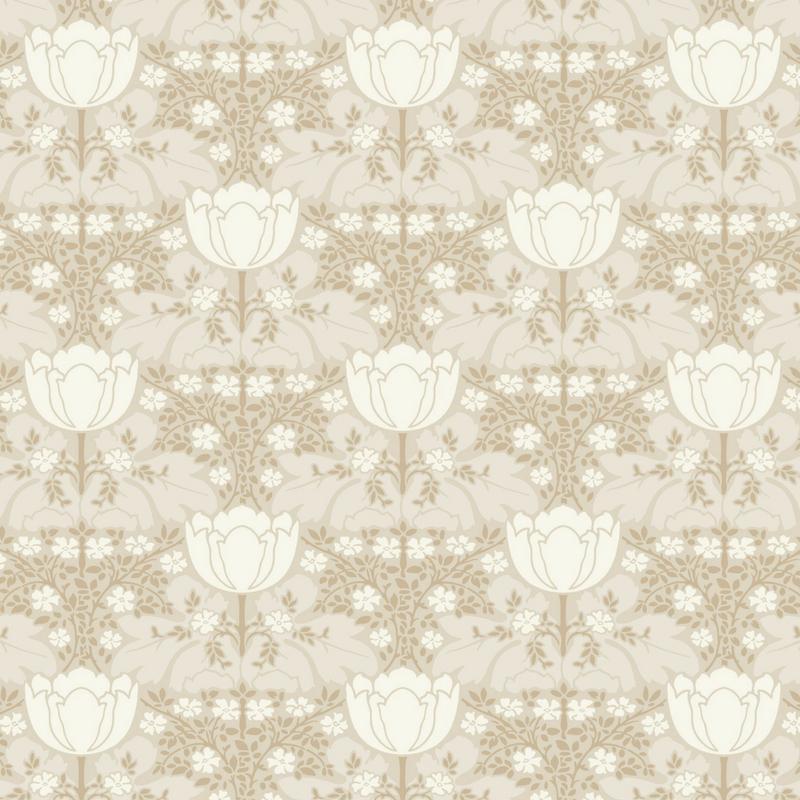 Papier peint Fox Trot beige - BELLE EPOQUE - Casadeco - BEEP82231130