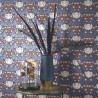Papier peint intissé FOX TROT bleu - Belle Epoque Casadeco