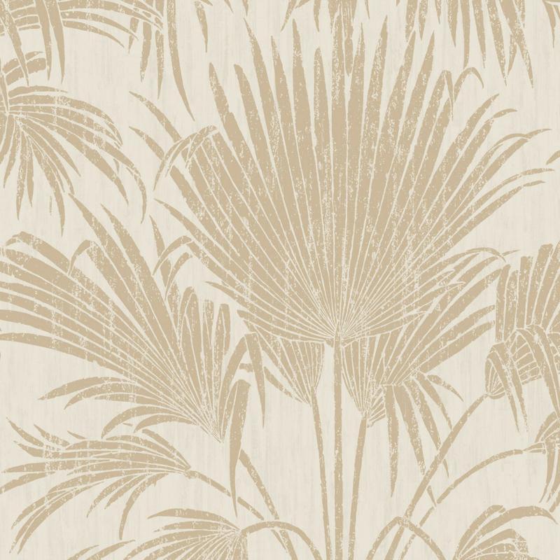 Papier peint Josephine Mat beige - BELLE EPOQUE - Casadeco - BEEP82311217