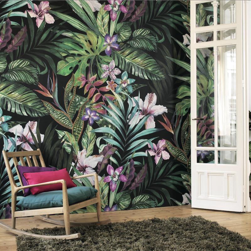 Panoramique Jardin Tropical – PANAMA - Casadeco - PANA81347235