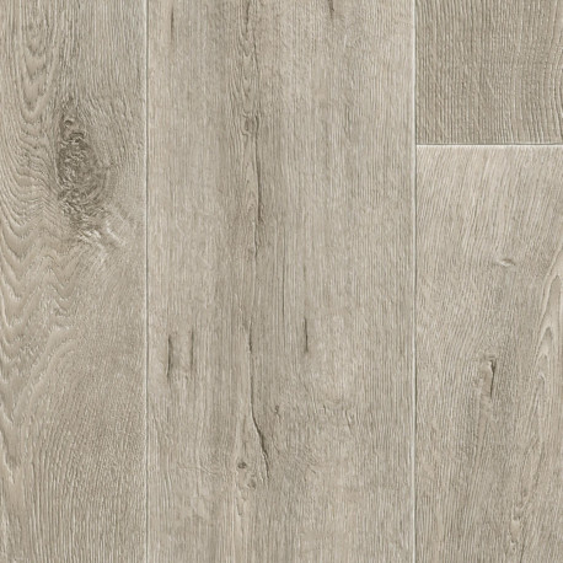 Sol PVC - Legacy parquet chêne gris clair - Iconik Resist TARKETT - rouleau 2M