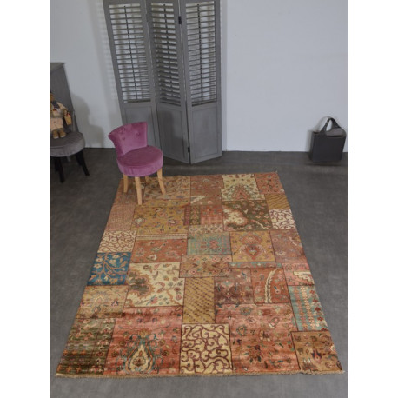 tapis patchwork wissenbach shahrizad - Tapis Patchwork
