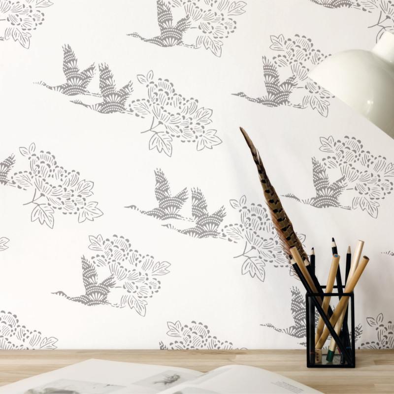 Papier peint Tobu gris foncé - HANAMI - Caselio - HAN100319199