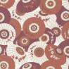 Papier peint WAGAZA terracota, gold - HANAMI - Caselio
