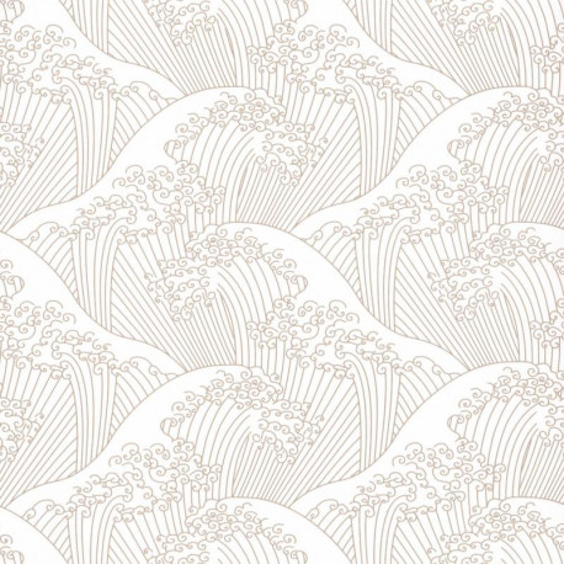 Papier peint Nami beige irisé - HANAMI - Caselio - HAN100381515