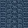 Papier peint motif japonais HAIKU bleu cobalt - HANAMI - Caselio