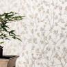 Papier peint cerisier japonais SAKURA beige - HANAMI - Caselio
