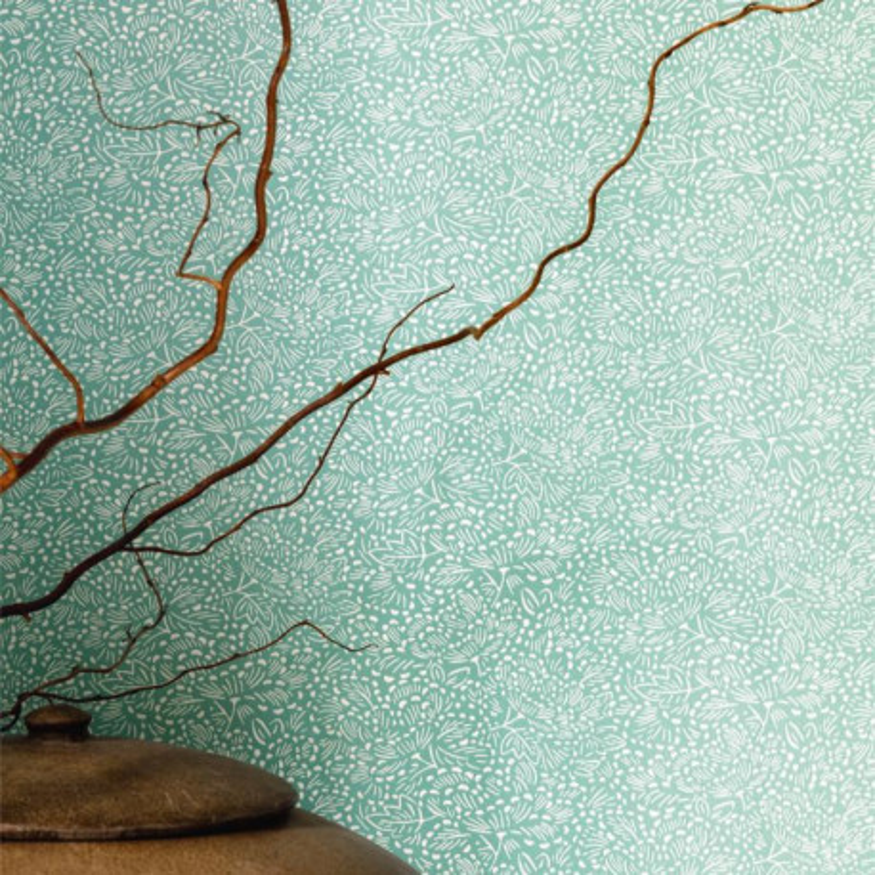 Papier peint Konoha vert amande - HANAMI - Caselio - HAN100337230