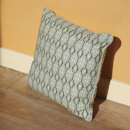 Coussin Palmito beige - 40x40cm