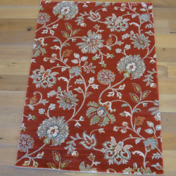 Tapis classique - Terracotta - 140x200 - OPTIMIST COSY- BALTA