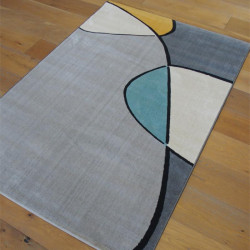 Tapis moderne style abstrait coloré - Canvas - 120x170cm