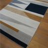 Tapis moderne écru à motifs géométriques - Canvas - 140x200cm