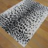 Tapis motif léopard écru et gris - 120x170cm - ELLE - BALTA