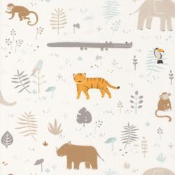 Papier peint Savanna beige - HAPPY DREAMS - Casadeco - HPDM82721205