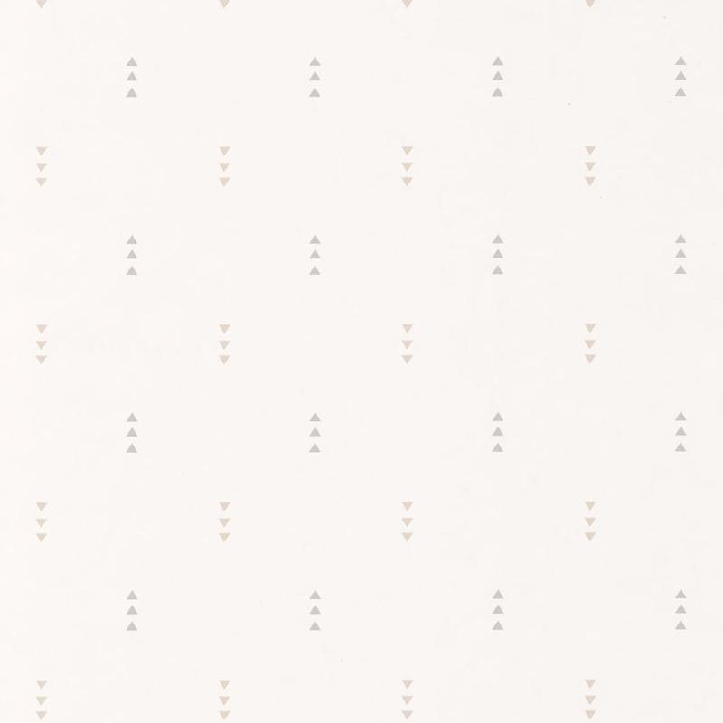 Papier peint Triangle beige et gris - HAPPY DREAMS - Casadeco - HPDM82811224